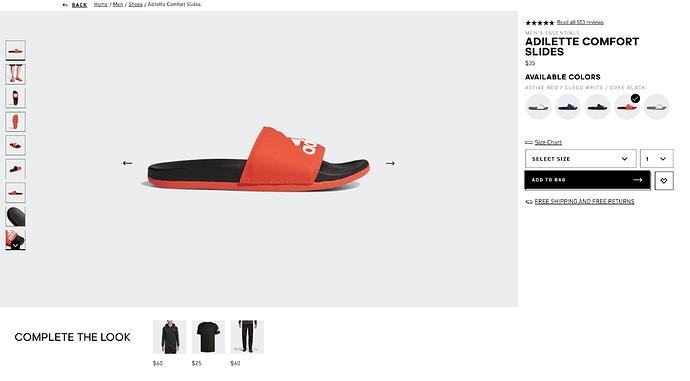Adidas-Slides-Sale-Red-Adilette-Slide
