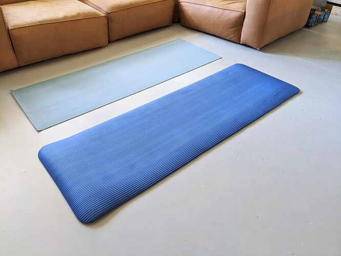 BalanceFrom-Yoga-Extra-Thick-Mat-Unrolled