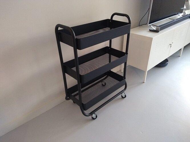 Target-Wide-Metal-Utility-Cart-Design