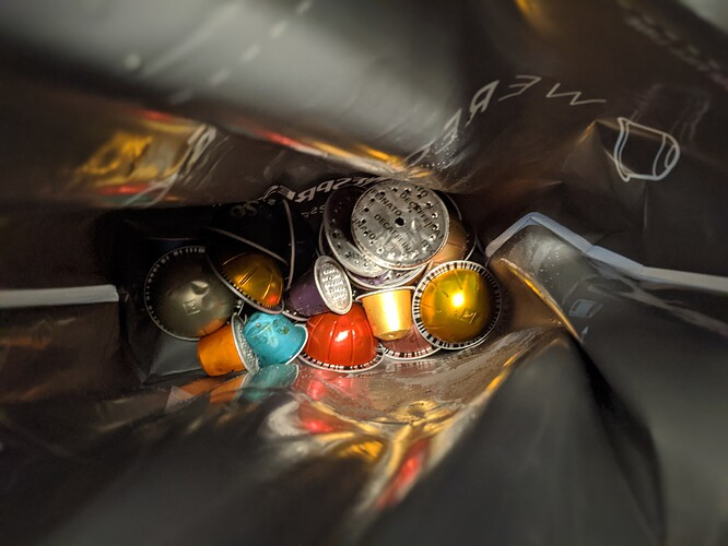 Nespresso-Recycling-Bag-Filled