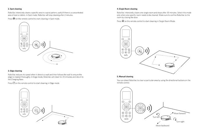 Eufy-RoboVac-11S-Remote-Control-Instructions